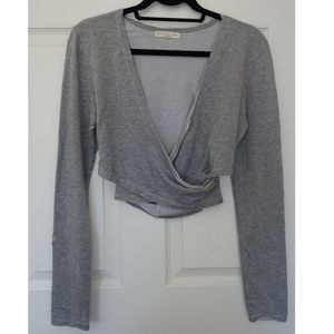 Truly Madly Deeply misty wrap top